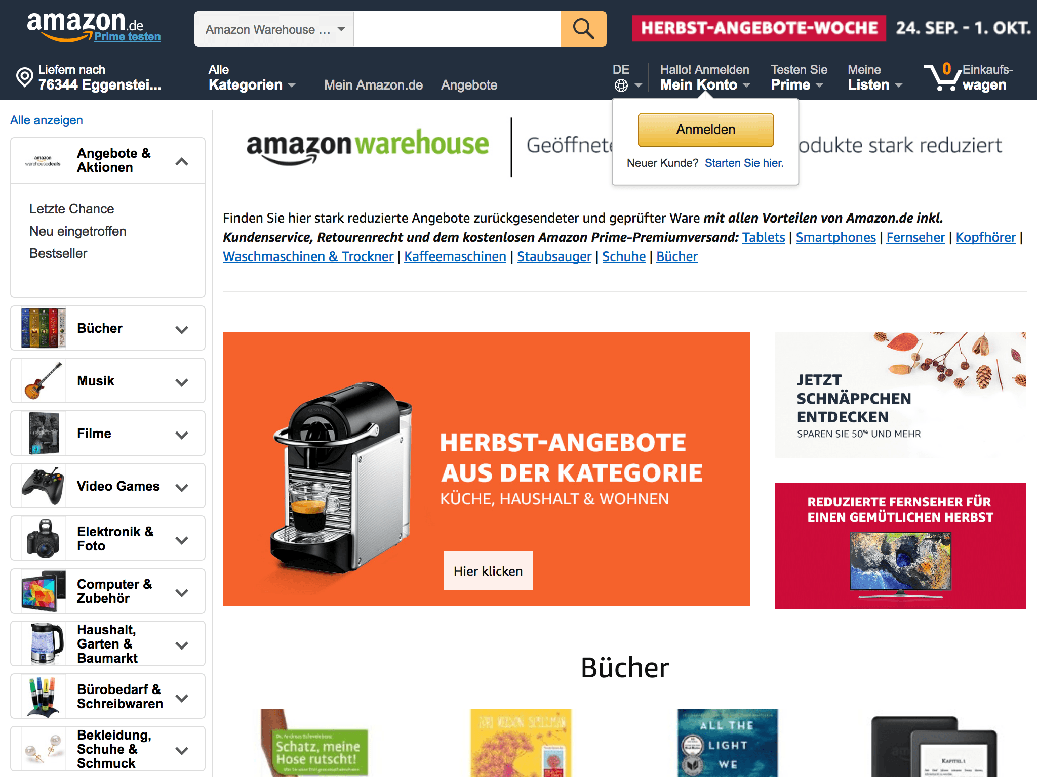 amazon warehouse deals angebote